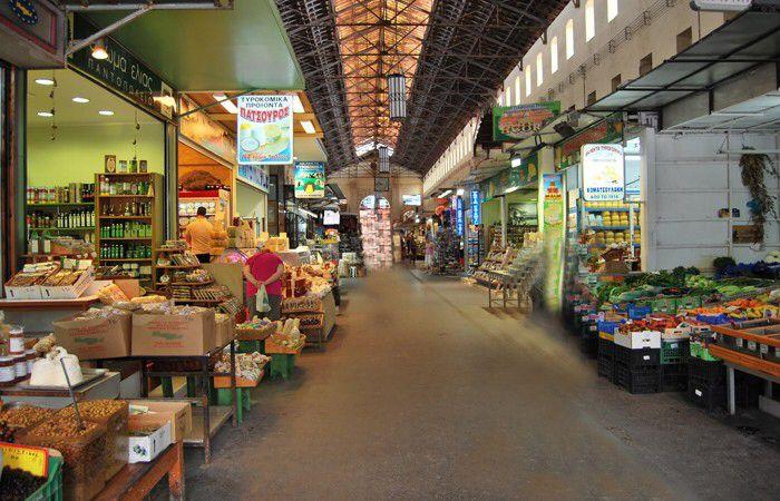 The Municipal Market of Chania - Greece