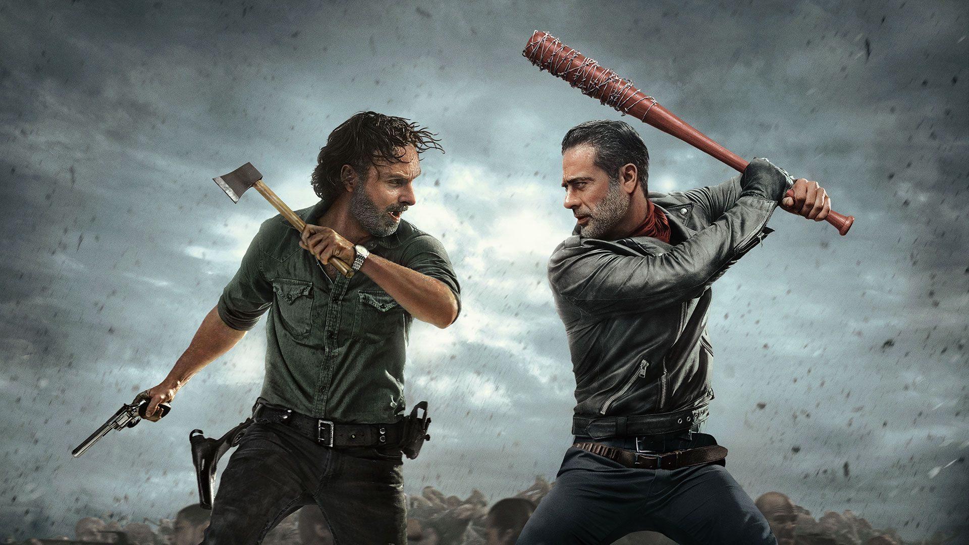 The Walking Dead: Behind the Dead - Andrew Lincoln, Norman Reedus ...