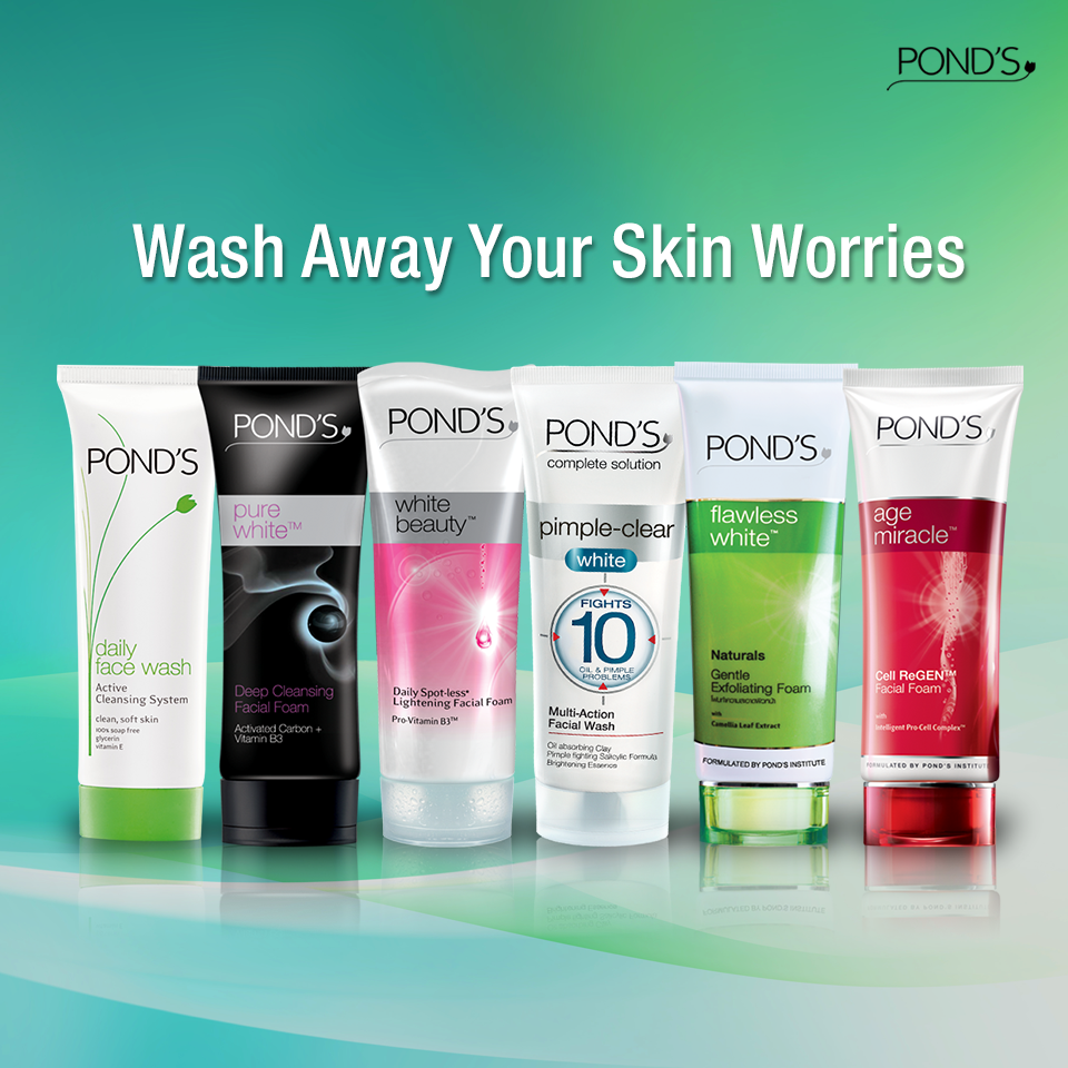 There S No Skin Worry That Pond S Can T Wash Away Pick The Pond S Facial Foam That Best Suits Your Skin Needs Facial Wash Natural Face Wash Best Face Products