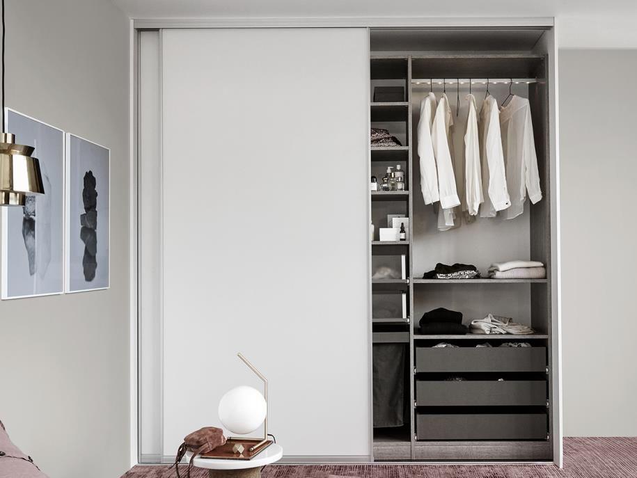Garderobe Met Schuifdeuren.Kvik Smart Functionele Garderobe Met Schuifdeuren Kvik Nl