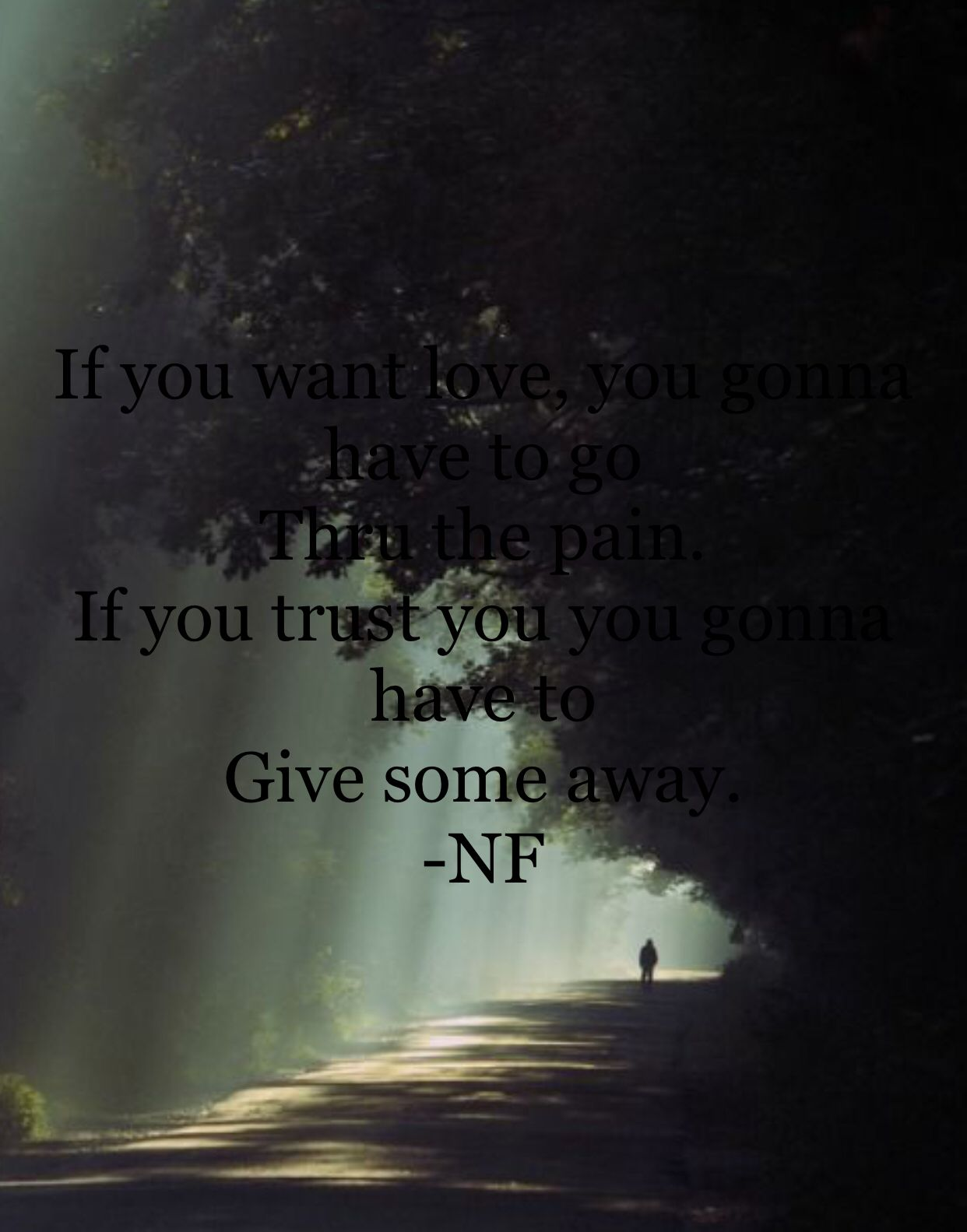 NF quote Nf quotes, Trust yourself, Quotes
