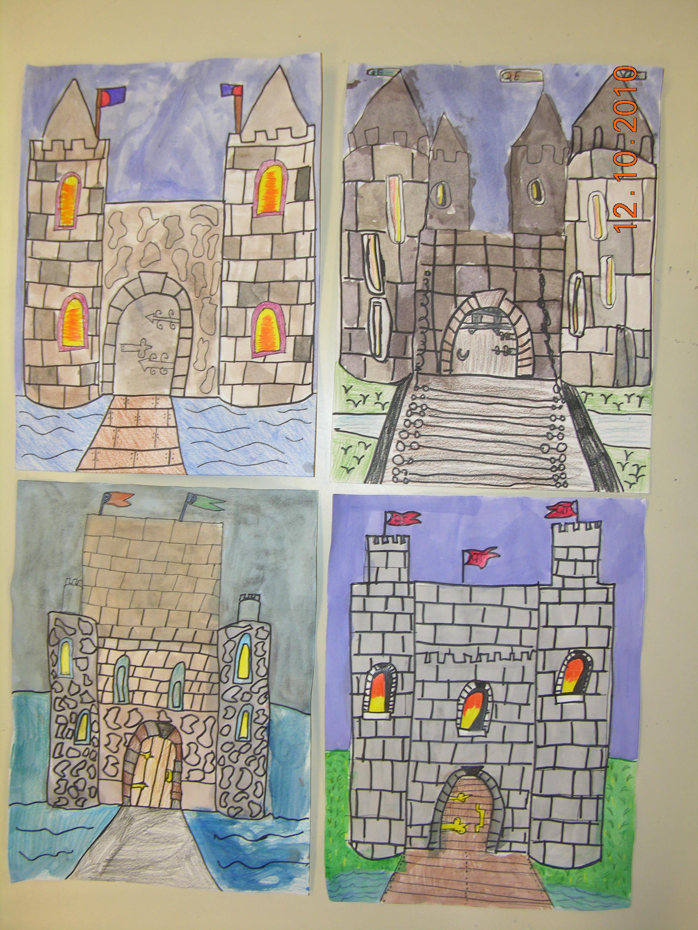 Castle Drawings