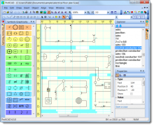 ProfiCAD Diagrama de circuito, Software