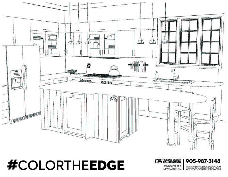 Colortheedge Outline Drawings Color Design