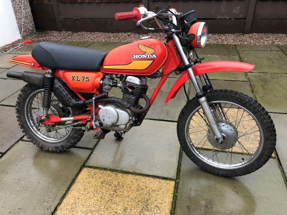 Ebay Honda Xl 75 1977 Barn Find Spares Or Repair Project Same As