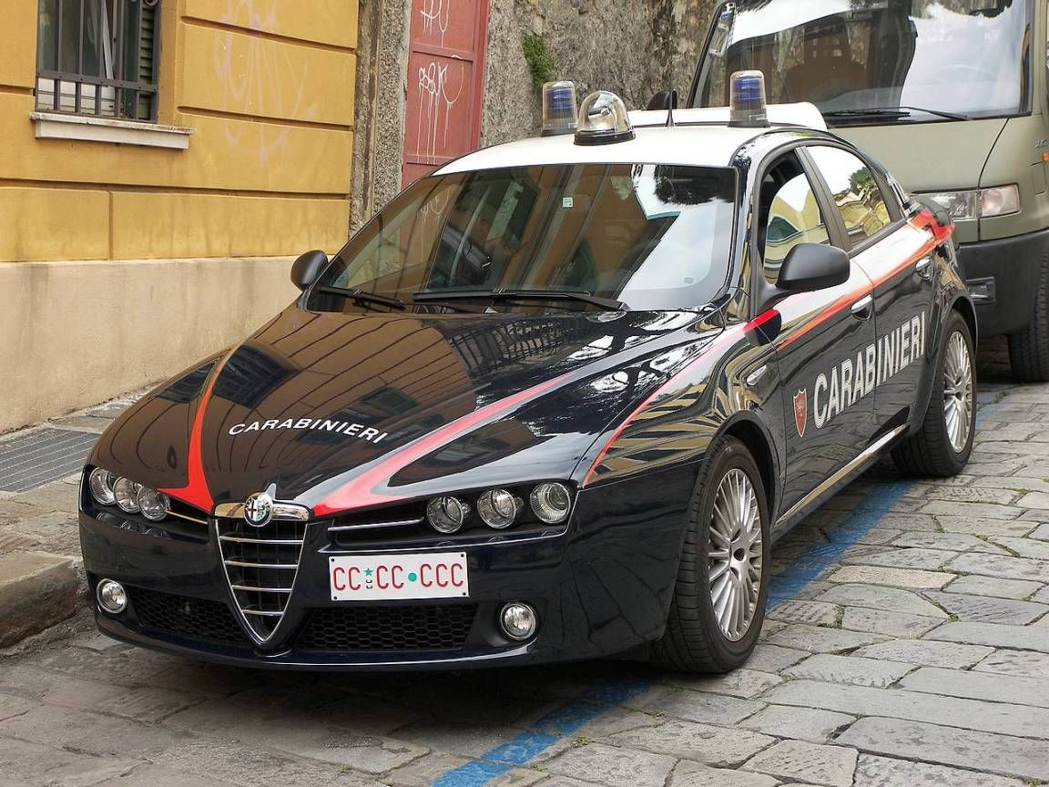2005-2011 Alfa Roméo 159 - Carabinieri - Italie