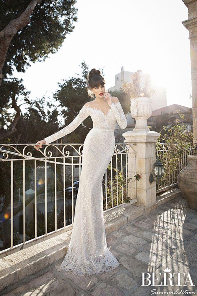 Gorgeous Wedding Dresses From Top Designers ❤ See more: http://www.weddingforward.com/wedding-dresses-from-top-designers/ #weddings