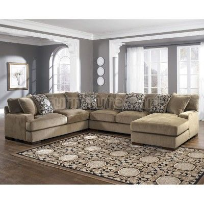 Grenada Mocha Right Facing Chaise 4 Piece Sectional For The Home