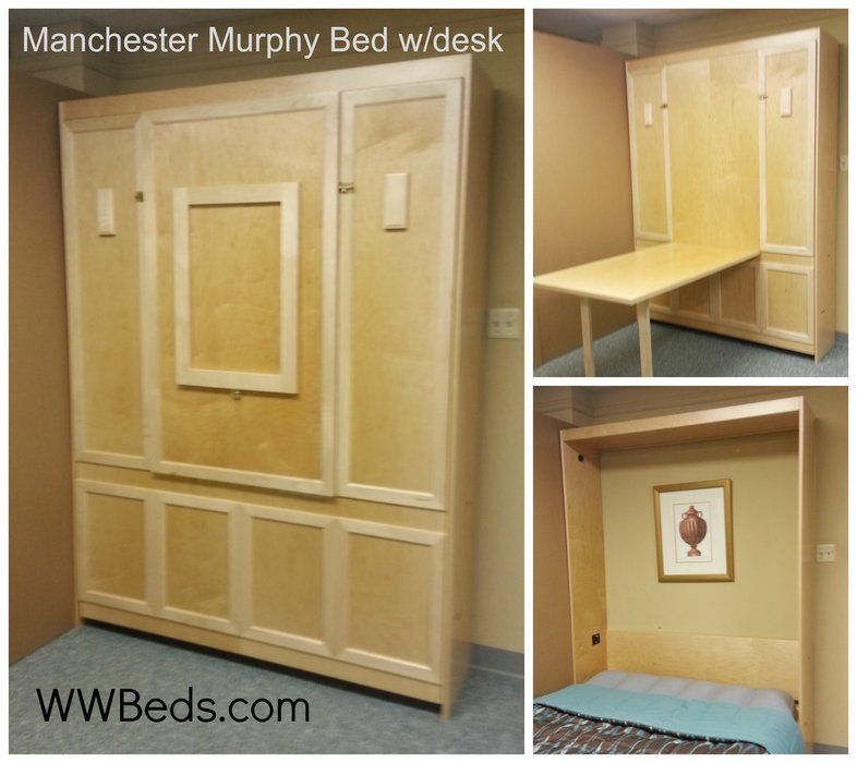 manhattan murphy bed w desk timber trails turnkey tiny house cabin kits and custom cottage designs built of super efficient affordable - Diy Murphy Bed