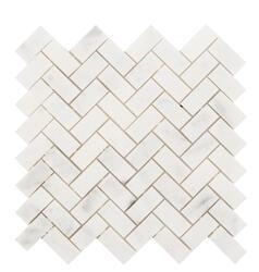 Backsplashes Wall Tiles At Menards In 2020 Stone Mosaic Tile Herringbone Mosaic Tile Stone Mosaic