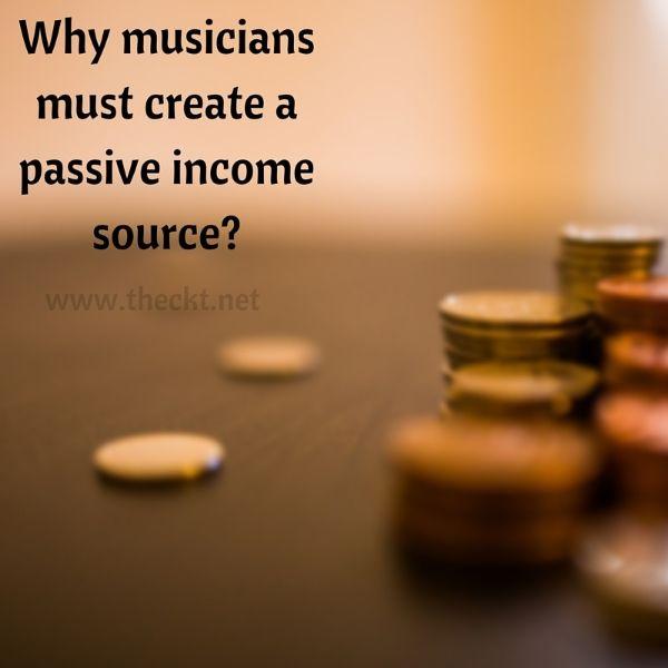 musicians create passive income source the cocoknot theori