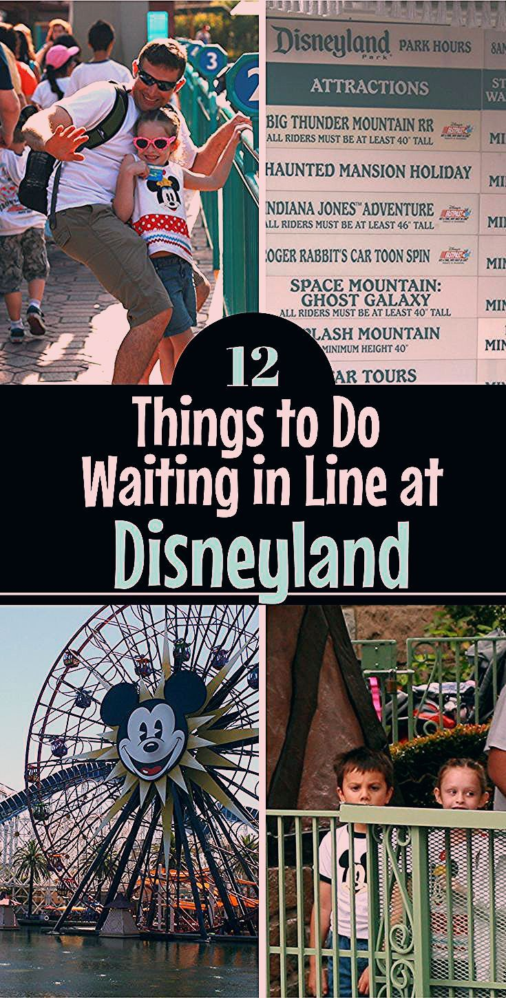 Photo of 12 Things to Do Waiting in Line at Disney Parks To Entertain Kids
