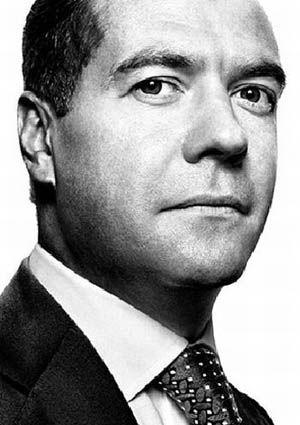 28. Dmitry Medvedev  President, Russia  Born September 14, 1965  In office since May 7, 2008