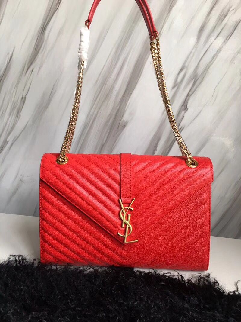 Ysl Saint Laurent chain shoulder bag large size original leather version Ysl  Bag f406683c3ad50