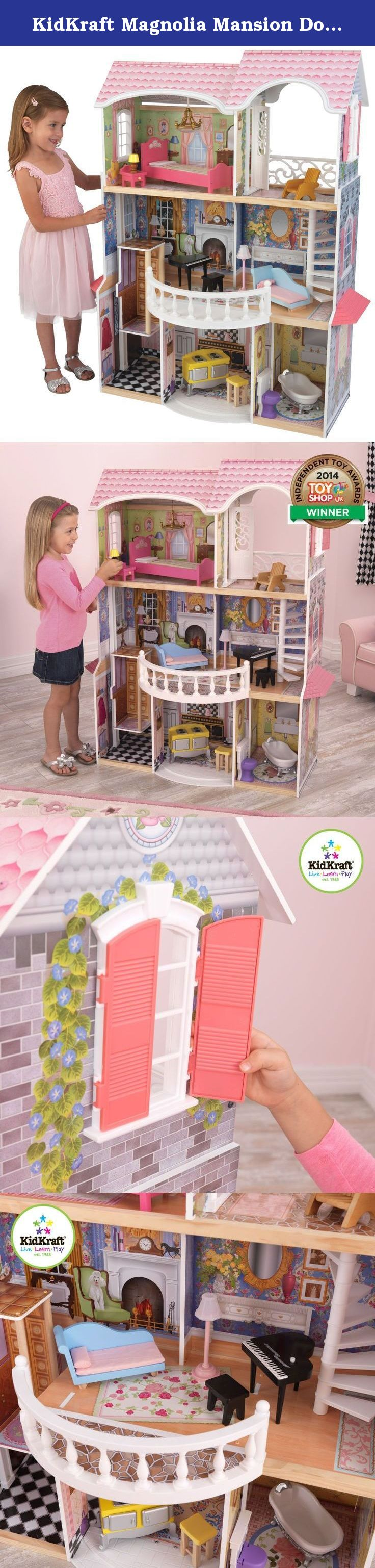 Kidkraft Magnolia Mansion Dollhouse With Furniture The Magnolia
