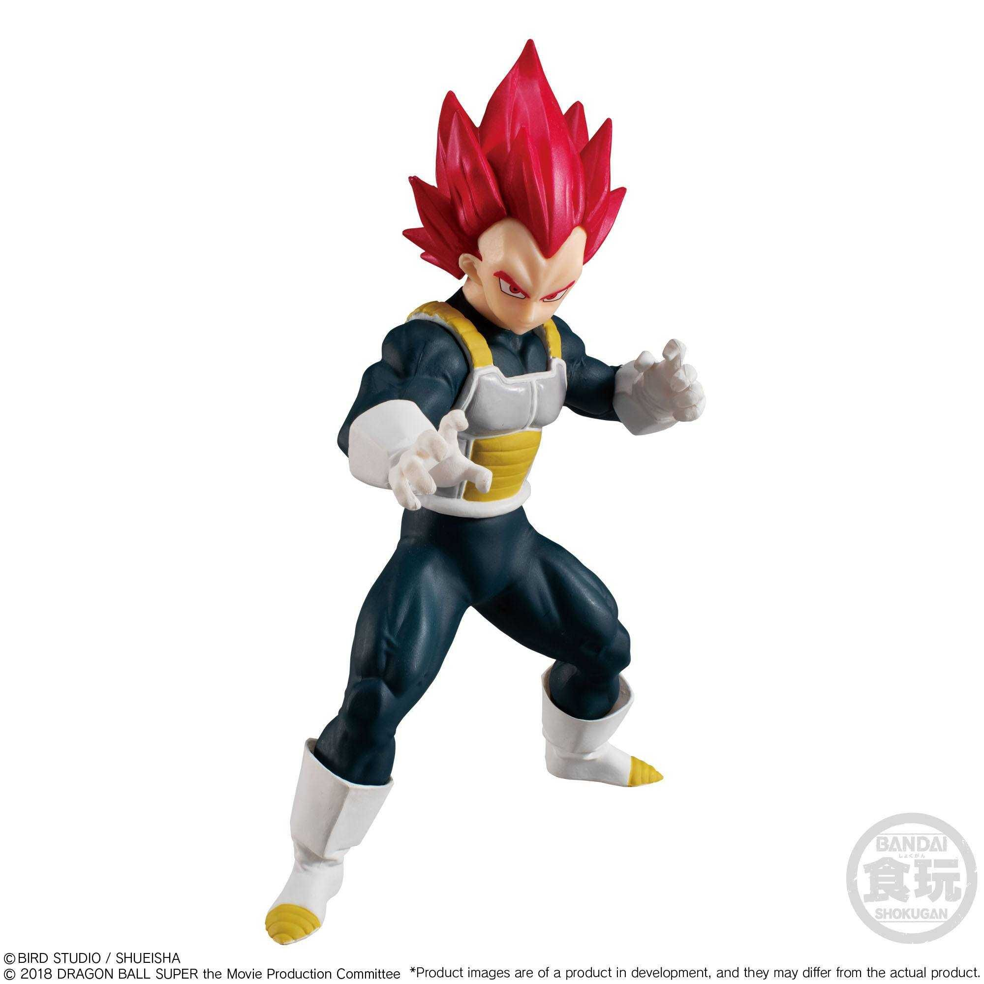 BANDAI DRAGON BALL STYLING Super Saiyan God super saiyan GOGETA Blue Figure