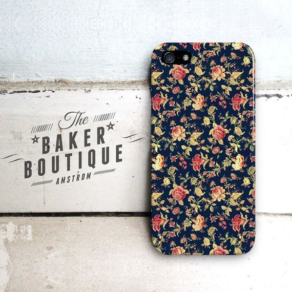 Vintage Flower iPhone 5 case Flower iPhone 5c by BakerrBoutique