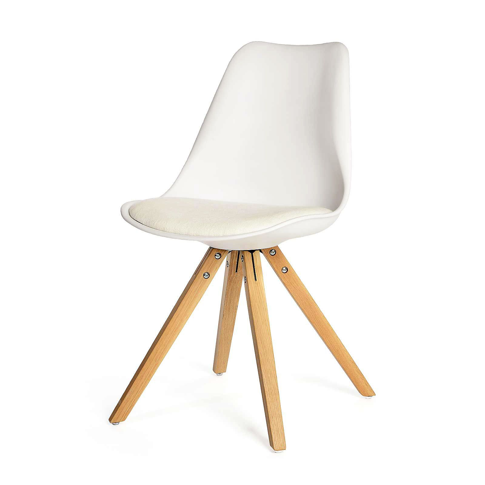 stuhl b 53 x h 83 x t 49cm wei weiss st hle pinterest. Black Bedroom Furniture Sets. Home Design Ideas