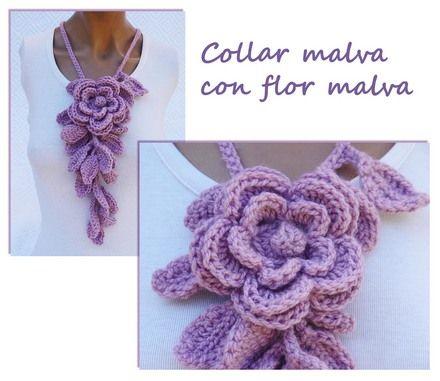 39f23d0792766 Accesorios tejidos a crochet paso a paso - Imagui