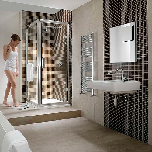 make bathroom romantic square shower