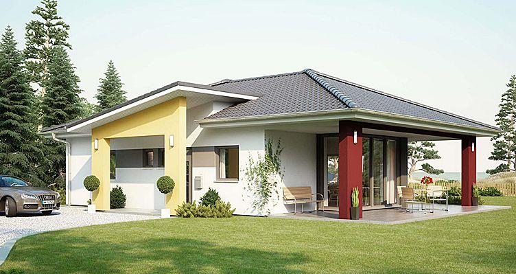 Architekten Bungalow bungalow comfort mit walmdach - büdenbender hausbau | architektur