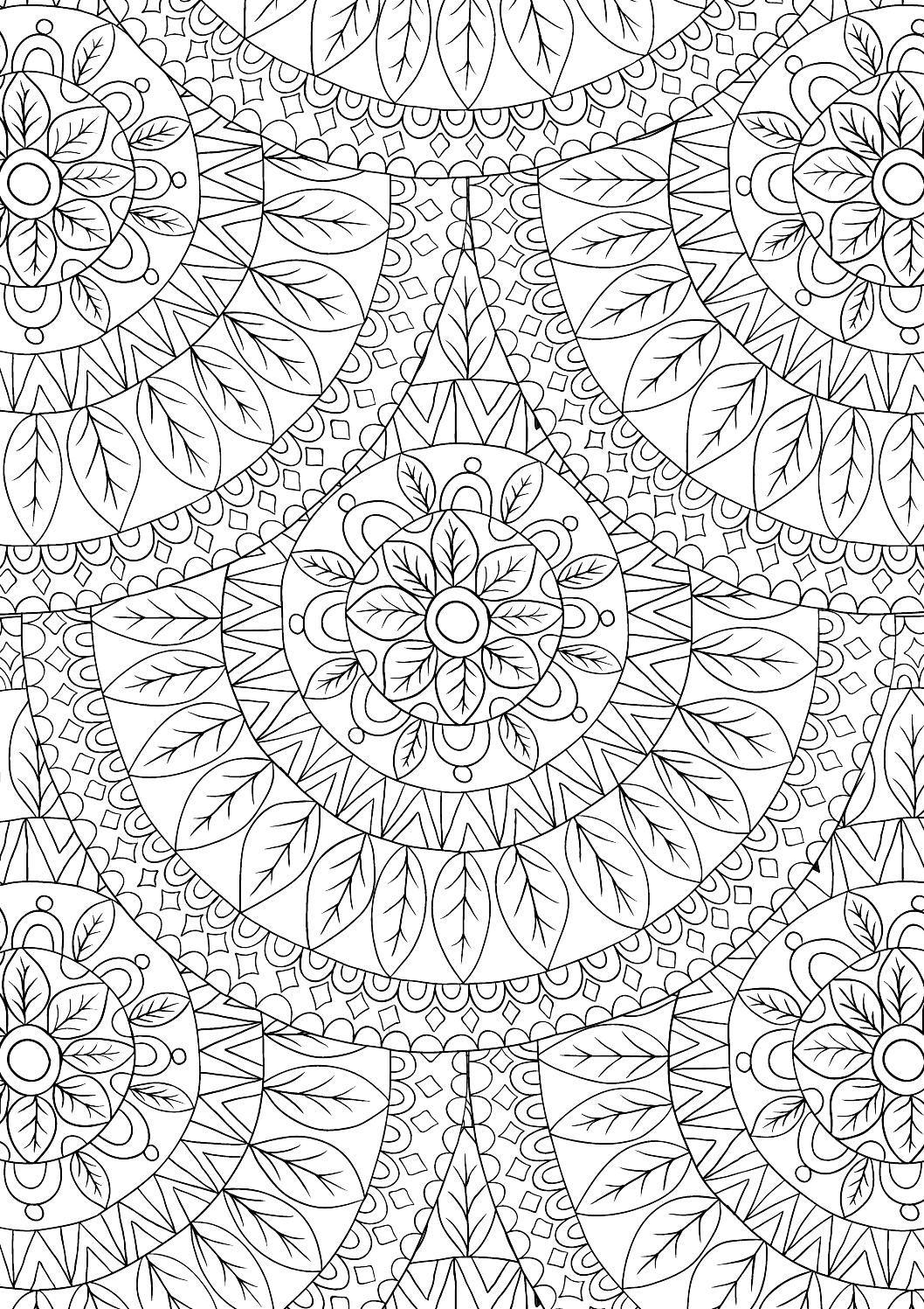 Didzioji mandalu knyga who needs stress pinterest coloring