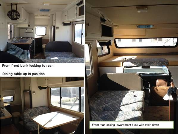 Wheels For Sale Near Me >> 1986 Toyota Minnie Winnebago 19 ft. interior shots. | Camper life, Rving, Motorhome