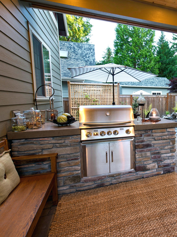 Idee Cucina All Aperto Con Un Budget In 2020 Luxury Outdoor Kitchen Backyard Kitchen Diy Outdoor Kitchen