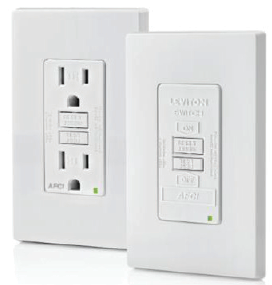 Afci 15a And 20a Receptacles And Blank Face Versions Nec