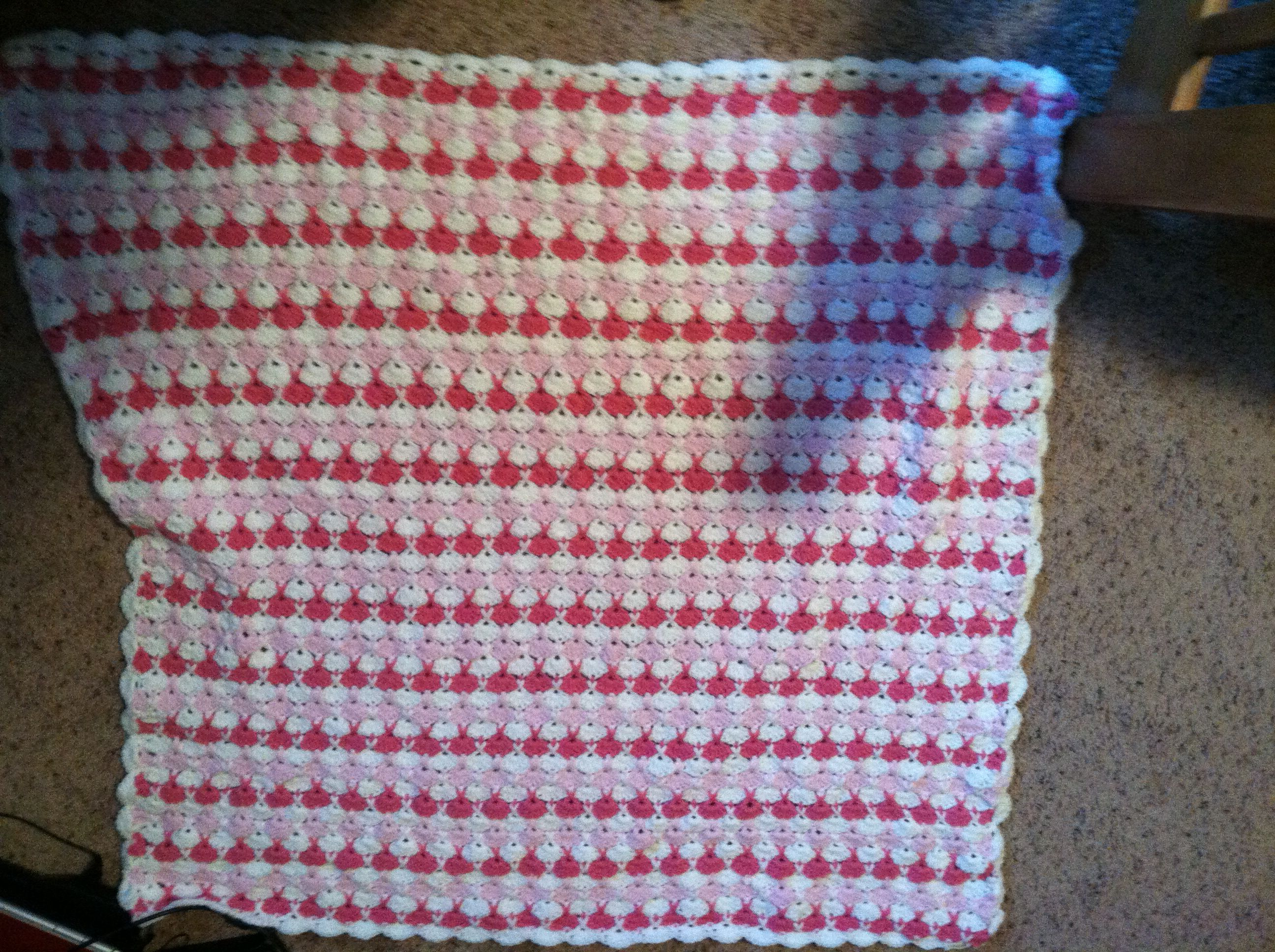 Baby blanket for my granddaughter.