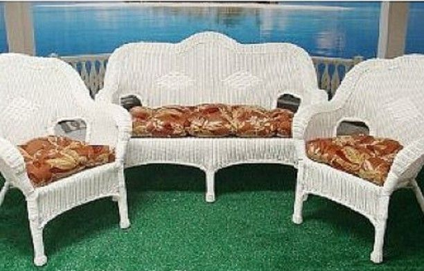 The Wicker Chairs Cushions For The Outdoor And Indoor Indoor