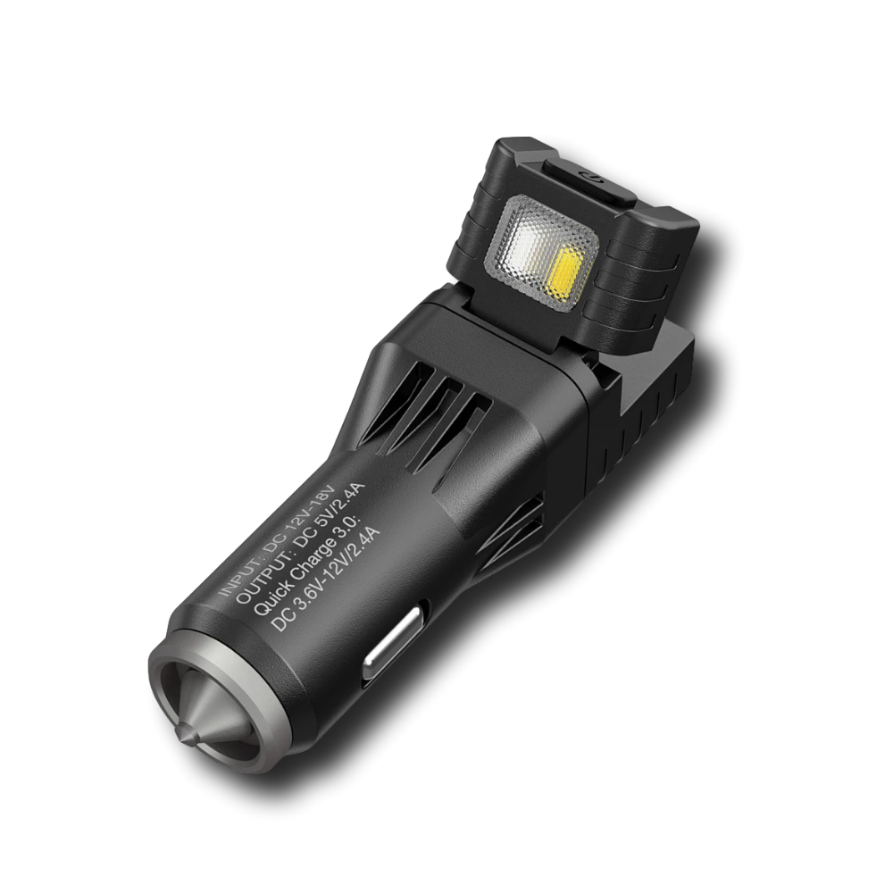 The NITECORE VCL10 is the ultimate all-in-one vehicle gadget you'll always want to keep…