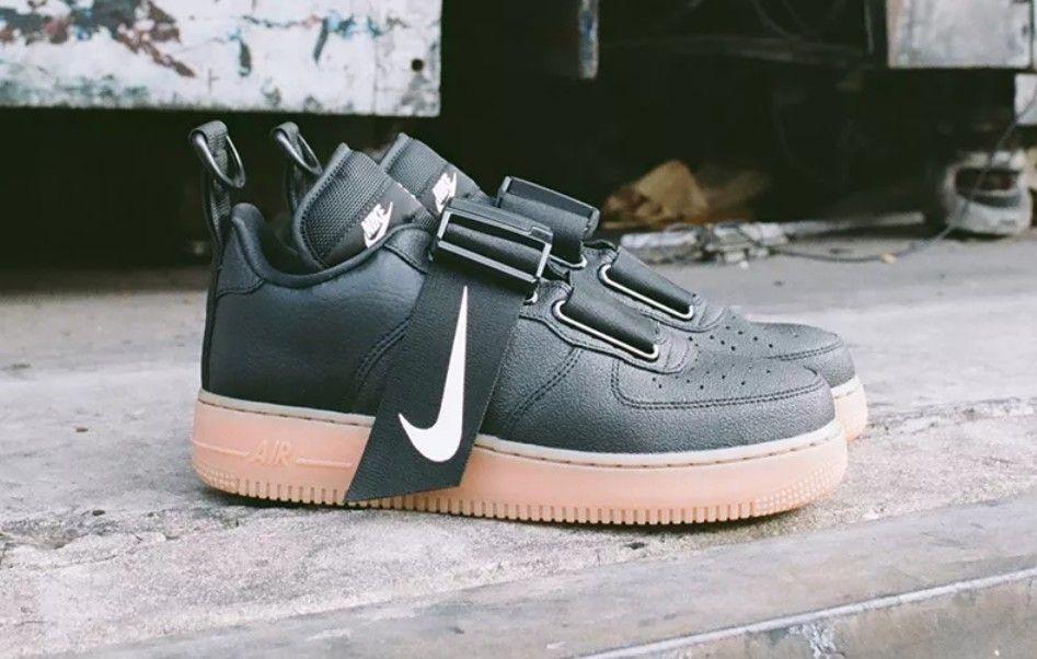 Nike Air Force 1 Low Utility Black Gum  731980146