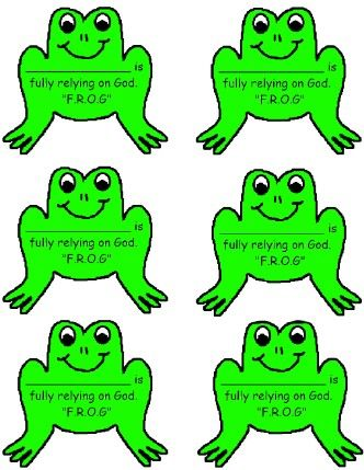 Printable Frog Name Tags let it snow Name tags, Printable name