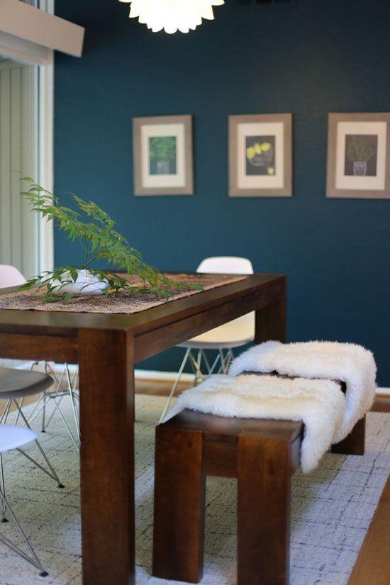 Inspiration : Des intérieurs à la déco bleu canard | Deco bleu ...