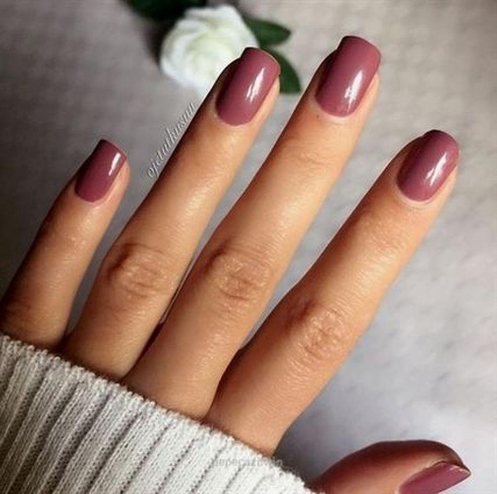 20+ Popular Nail Colors Ideas This Fall Winter #fallnails