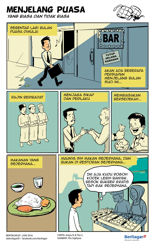 Sambutlah Ramadan Ramadan Kartun Komik