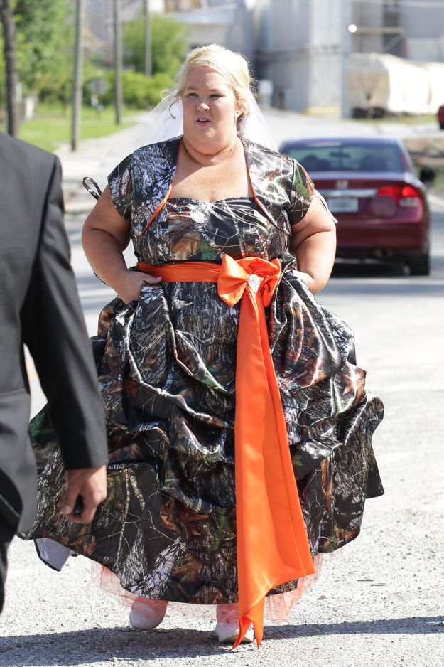 Mama June Got Married In A Camouflage This Weekend