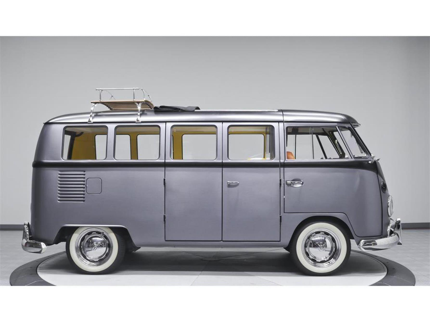It S A Sleek Restoration But Still At 1967 Kombi At Heart Vintage Vw Bus Vw Bus Volkswagen Bus