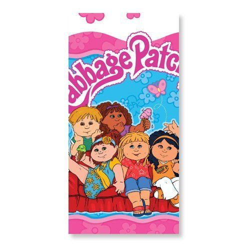 Cabbage Patch Kids Table Cover by American Greetings. $11.99. Cabbage Patch Kids Plastic Table Cover. Size: 54in X 96in. Brand new in package