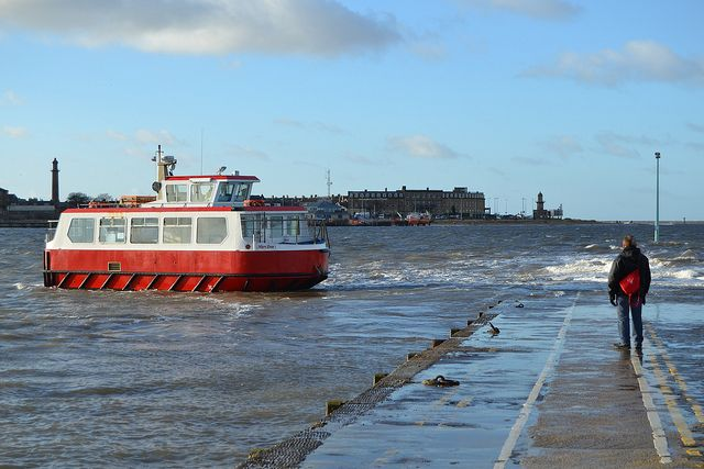Back to #Fleetwood by #ferry from #Knott End | by @CyprusPictures