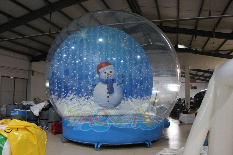 5m Giant Inflatable Christmas Snow Globe With Images Christmas