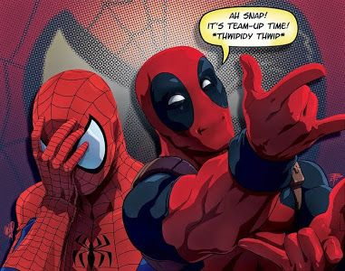 Spiderman & DeadPool make a great team.