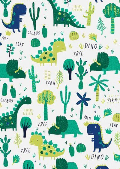 Print pattern prehistoric pals dinosaur pattern dinosaur illustration dinosaur wallpaper - Paperboy dinosaur wallpaper ...