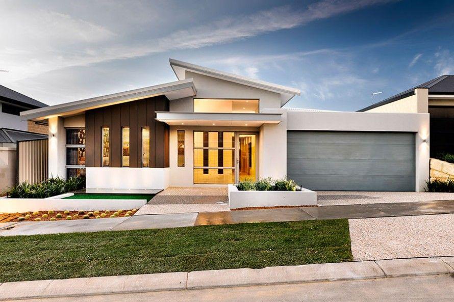 Skillion Roofline House Plans