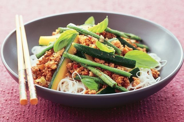 Stir-fried turkey with chilli & basil | Recipe | Turkey ...