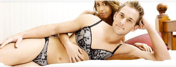 Men wearing women s lingerie