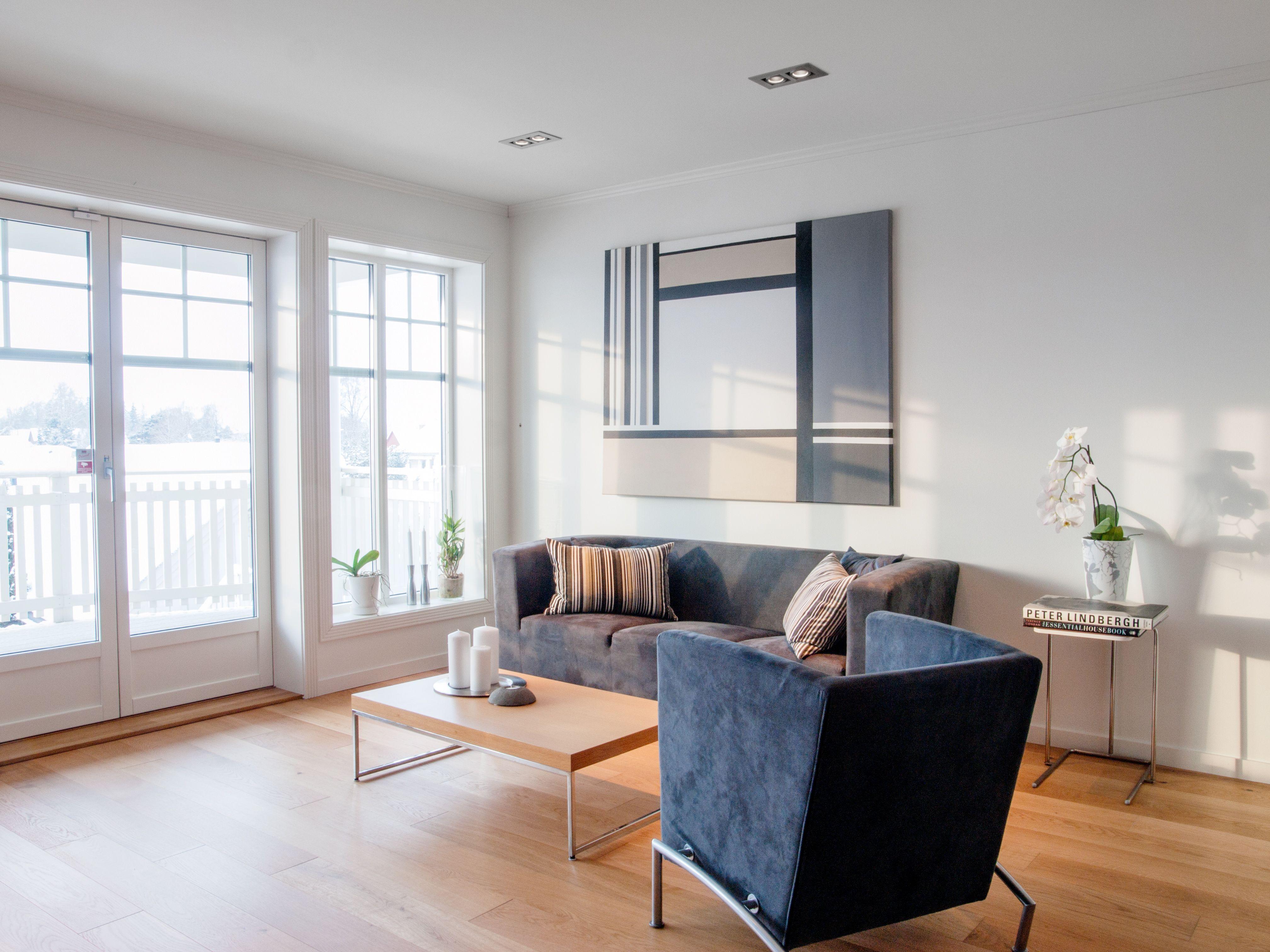 Loftsstue living room i Raumarheim fra