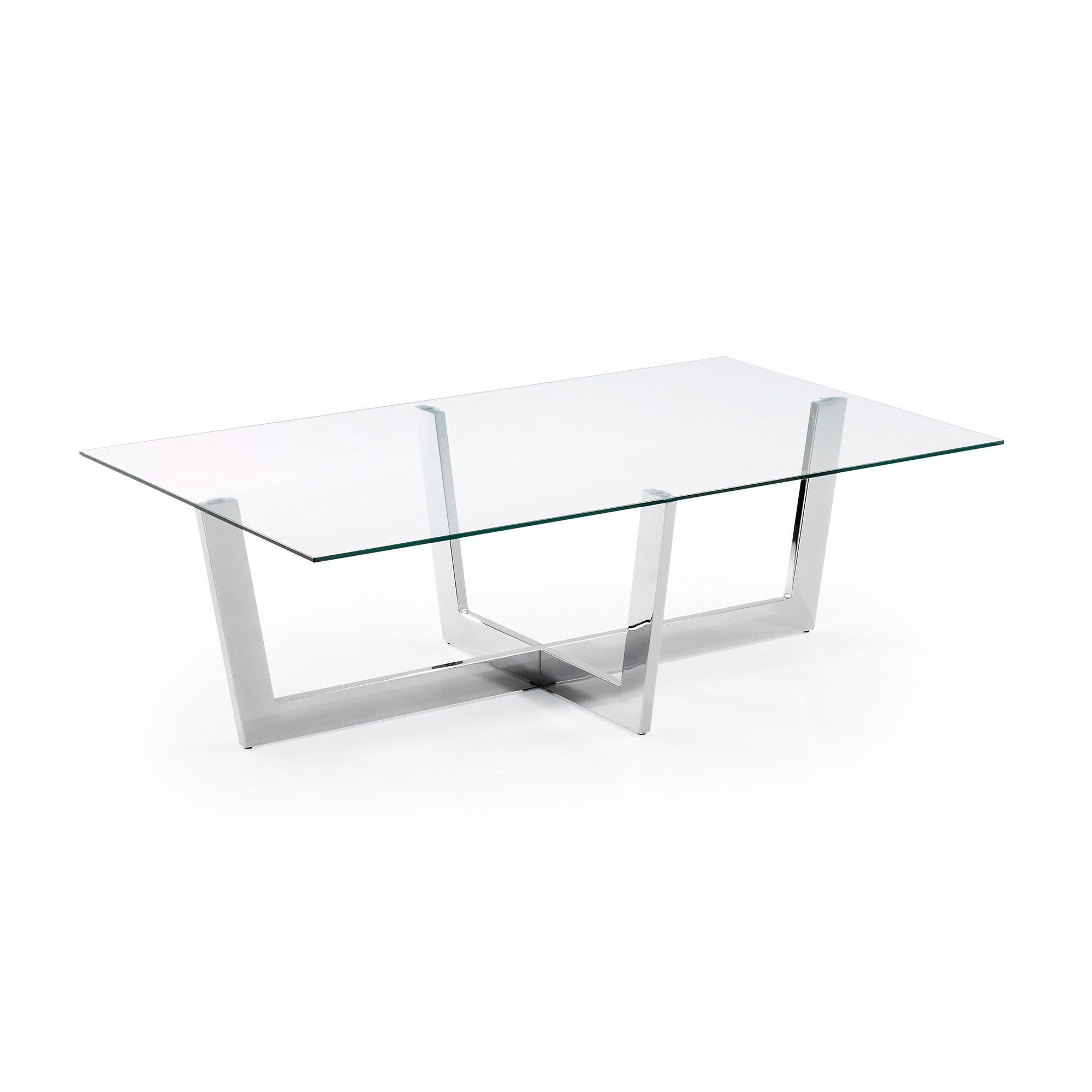 Table Basse Plam Verre Transparent Table Basse Transparente  # Table Basse Transparente