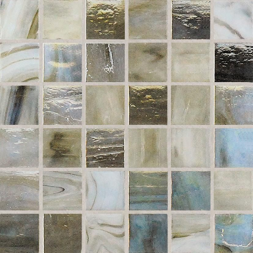 Quick Overview Featuring Translucent Chips With Three Dimensional Streaks And Swirls The Varying Colors And Patterns Within Each Chip Sti In 2019 Glass Pool Tile Glass Glass Mosaic Tiles